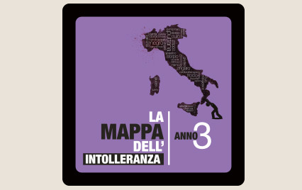 mappa dell'intolleranza omofobia